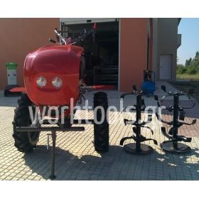 Σκαπτικό πετρελαίου Diesel με μίζα και φώτα 10 HP NOVA 12D