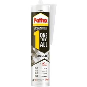 Υπερδιάφανη Kατασκευαστική Kόλλα για όλα τα υλικά Pattex Crystal One For All