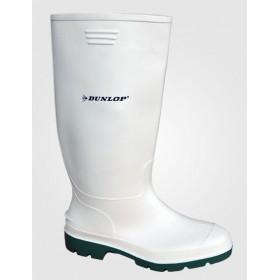 Γαλότσες Γονάτου Λευκές Dunlop Pricemastor
