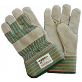 Γάντια δερματοπάνινα με επένδυση πολυουρεθάνης