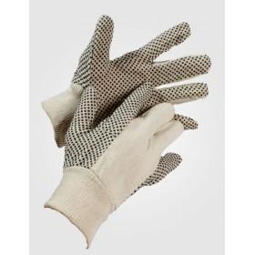 Γάντια εργασίας βαμβακερά με κόκκους PVC