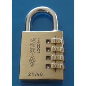 Λουκέτο συνδυασμού CISA 21190-40-0