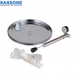 Καπάκι πνευματικό-πλωτήρας SANSONE για δοχεία