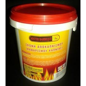 Καθαριστικό Καπνιάς για όλα τα μέσα θέρμανσης Mister Barbeque 1 κιλό