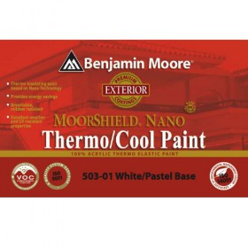 Χρώμα 503 Moorshield Nano θερμομονωτικό της Benjamin Moore